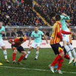 Inter a Lecce è solo 1-1. La Juve può portarsi a +4