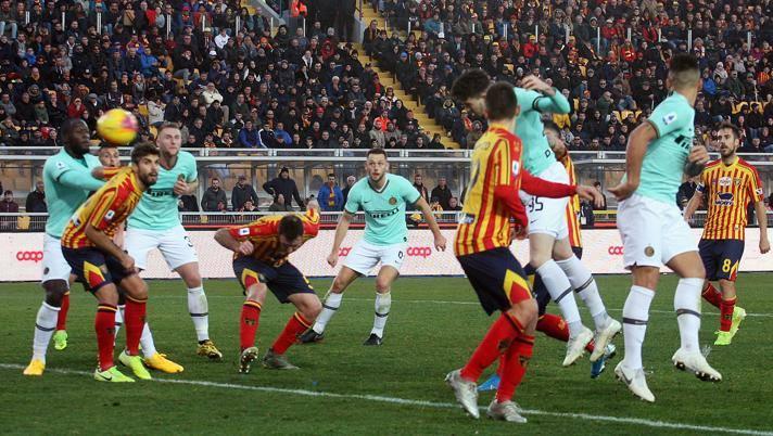 Inter a Lecce è solo 1-1