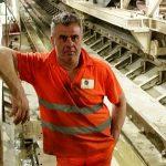 Raffaele Ielpo morto sul lavoro all'interno del cantiere del Manufatto Tirana