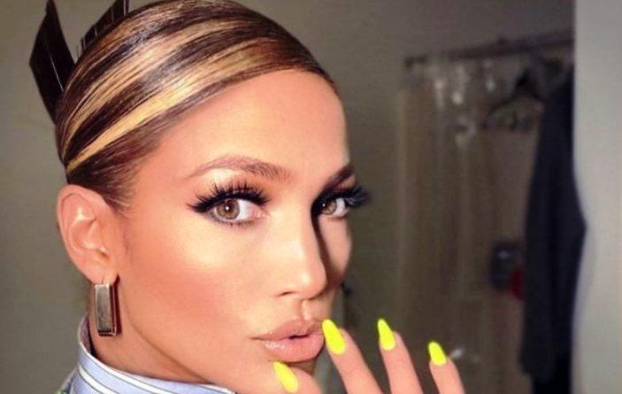 Le mèches di Jennifer Lopez
