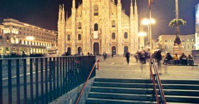 Milano Duomo - conoscenza dell'inglese