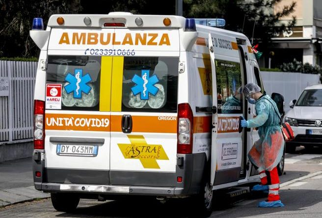 coronavirus ambulanza