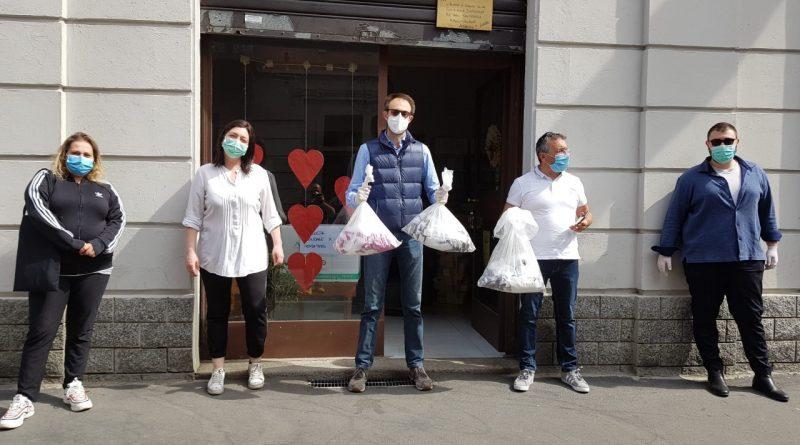 consegna mascherine gratis a Rogoredo