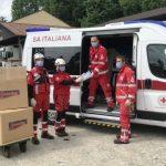 Spontex in aiuto alla Croce Rossa Italiana