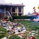 Esplosione a Fino Mornasco. Andrate: in via Liguria morto un ventenne