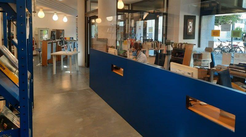 Usmate Velate uffici plexiglass