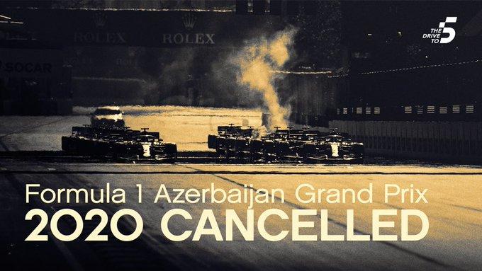 cancellazione Gp Formula Uno