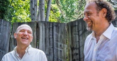 Claudio Farinone (sx) e Fausto Beccalossi (dx)