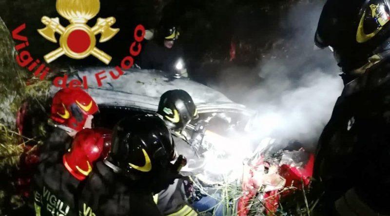 incidente tra Como e Senna Comasco
