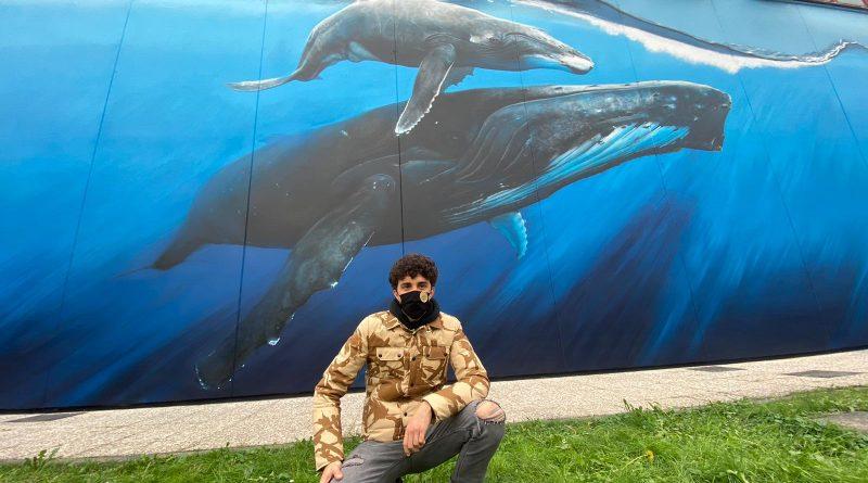 Milano Nuovo murales Retake per la Piscina Procida