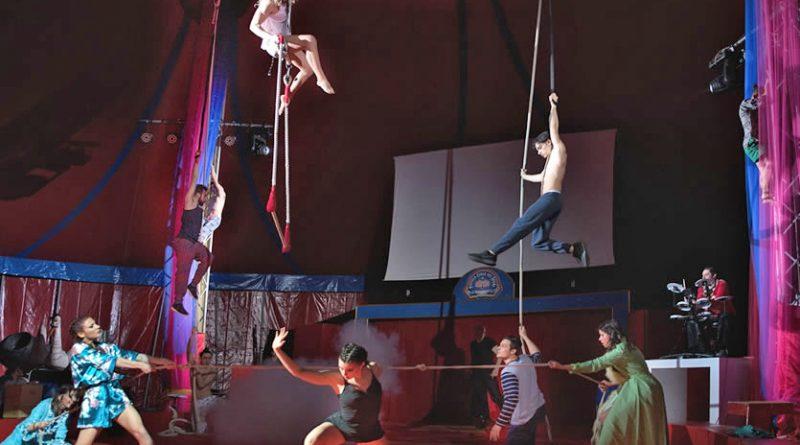 il Circo di Peschiera Borromeo mette in scena Maleficent Tribute