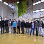 A Lissone inaugurata la nuova parete di arrampicata nella Scuola Buonarroti