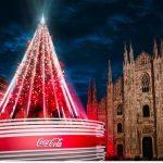 Coca-Cola accende in piazza Duomo il Natale milanese