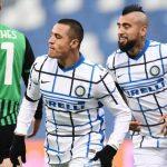 L'Inter reagisce alla grande contro i lanciatissimi emiliani e punta alla vetta