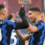 L'Inter di Conte scivola a -3 dal Milan di Pioli