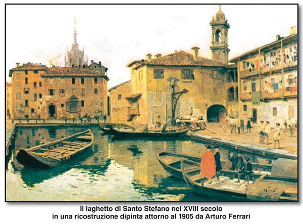 Laghetto di Santo Stefano Arturo Ferrari