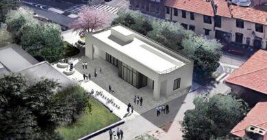 Milano biblioteca di Baggio