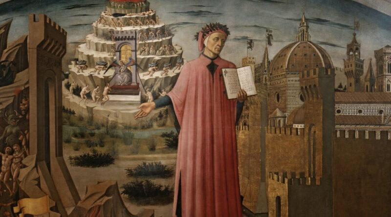 Domenico di Michelino, Dante con in mano la Divina Commedia, 1465