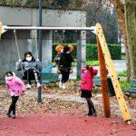 Nuovo parco giochi accessibile in Piazza Paci