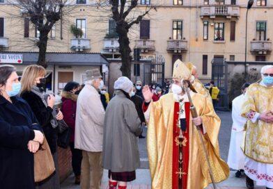benedizione malati Milano 11 febbraio 2021