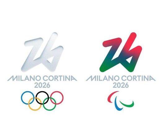 Milano Cortina 2026 logo ufficiale
