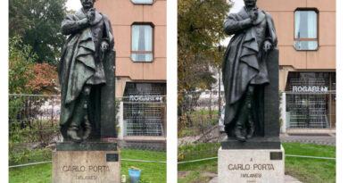 tutti gli interventi in corso per la rigenerazione delle statue - Carlo Porta