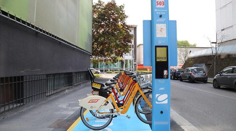BikeMi in via Crespi - ph ufficio stampa comune di Milano