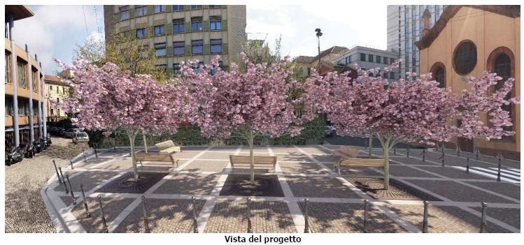 Da dedalo di vie disordinato a luogo di socialità alberato, rinasce l'area nel cuore della Milano Romana