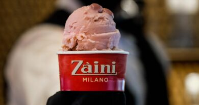 Zaini Milano coppetta gelato ruby