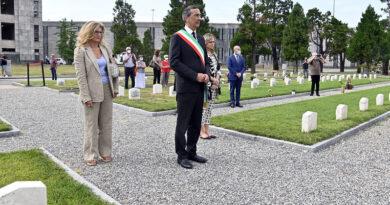 Cimitero Maggiore. Campo 87, un monumento alla memoria delle vittime della pandemia - ph comune milano