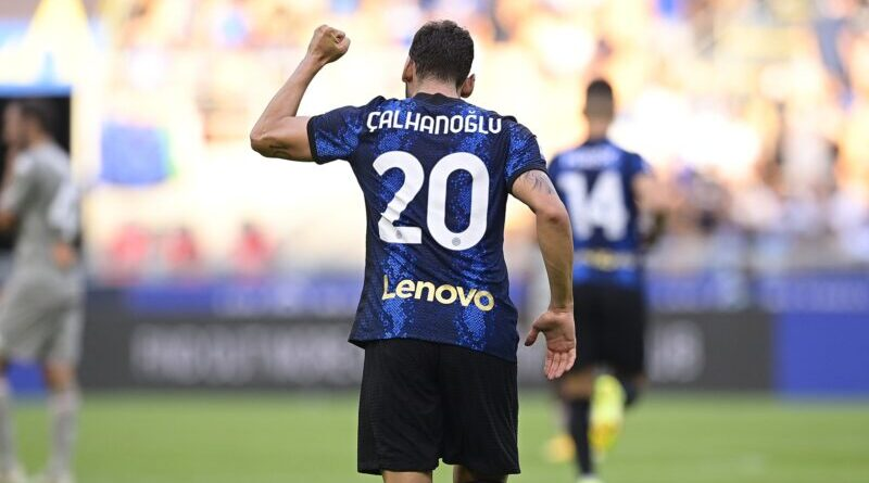 Calhanoglu - ph profilo ufficiale fb Inter