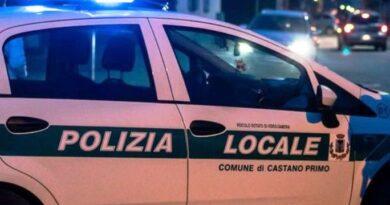 Polizia locale Castano Primo - ph profilo fb sindaco