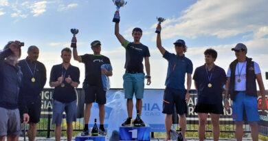 foto di Barbara Valla podio del Trofeo 100 Laghi 2021 in Val Parma