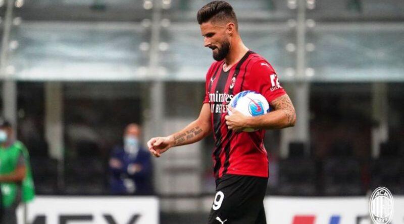 Olivier Giroud - ph profilo ufficiale Milan