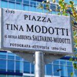 Dedicata alla fotografa Tina Modotti una piazza in zona Rogoredo